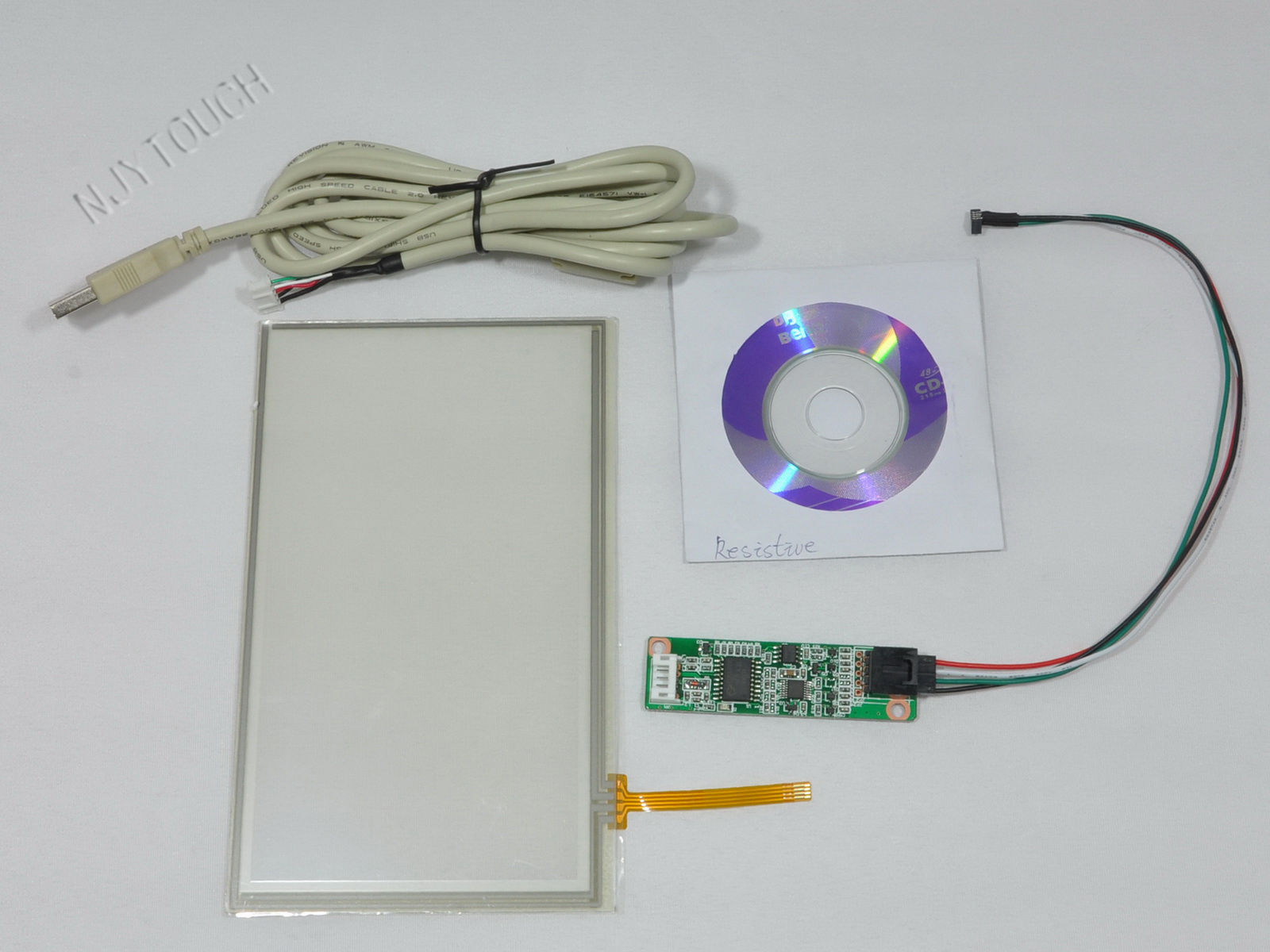 7 inch 4 Wire Resistive Touch Screen Panel