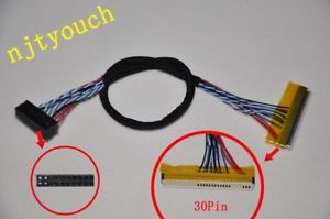 FIX-D6 30Pin LVDS Cable for LCD Controller Panel 6 Bits