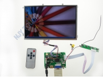 10.1 inch B101EW05 1280x800 LED Screen Panel+HDMI+VGA+2AV LCD Controller Kit
