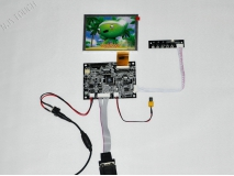 5 inch TFT INNOLUX AT050TN22 V1 LCD Screen Panel Module+KYV Controller Board 640x480