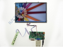 10.1 inch B101EW05 1280x800 LED Screen Panel+DVI+VGA R.RM5251 LCD Controller Kit