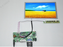 8.9 inch TFT CHIMEI CMO N089L6-L03 LCD Screen Panel Module 1024x600+HDMI+LCD Controller Board