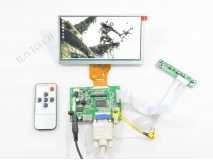 6.5 inch INNOLUX AT065TN14 50 Pin 800x480+Remote LCD controller Board+HDMI+VGA+2AV