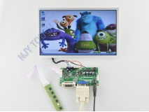 10 inch TFT LCD Screen Panel HSD100IFW1-A00+R.RM5251 DVI+VGA Controller Board+10 Inch TFT LCD Screen Panel HSD100IFW1-A00