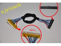 FIX-S6 30Pin LVDS Cable for LCD Controller Panel 6 Bits