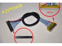 FIX-S8 30Pin LVDS Cable for LCD Controller Panel 8 Bits