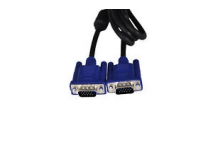 Male to Male VGA Cable for LCD Monitor 15 Pin Connector Length 1.5m