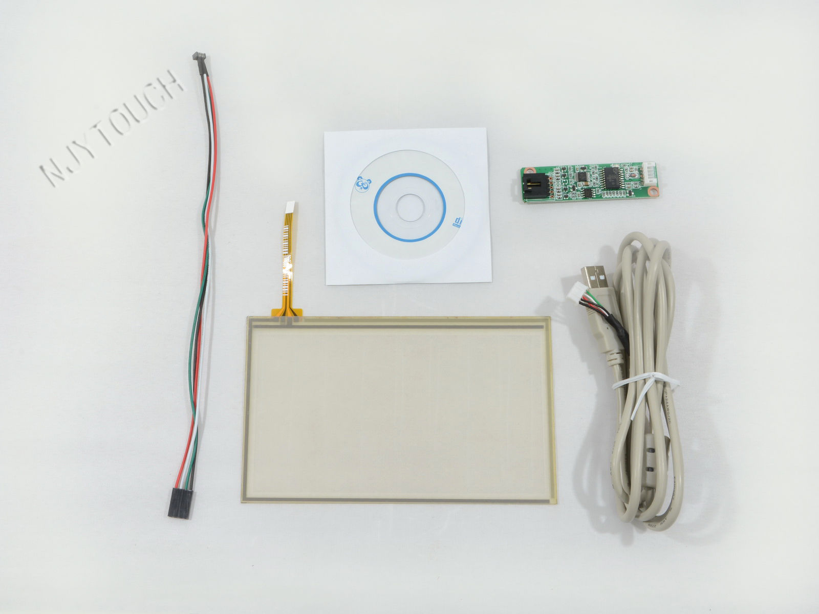 6.5 inch film to film 4 wire resistive touch panel+USB Controller Flexible Soft DIY