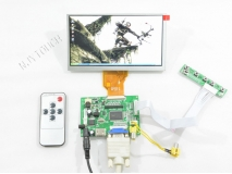 6.5 inch INNOLUX AT065TN14 50 Pin 800x480+HDMI+VGA+2AV+Remote LCD Controller Board