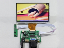 7 inch AT070TN90 800*480 Reversing Driver Board +HDMI/VGA/2AV+ LCD Display
