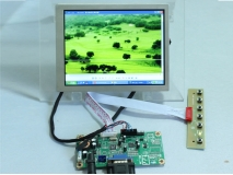 6.5 inch G065VN01 V2 640x480 LCD Panel+VGA signal input LCD Controller Board