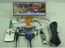 7 inch 800*480 AT070TN93 EJ070NA-03A+Touch Panel+Remote+HDMI+VGA+2AV Driver Board