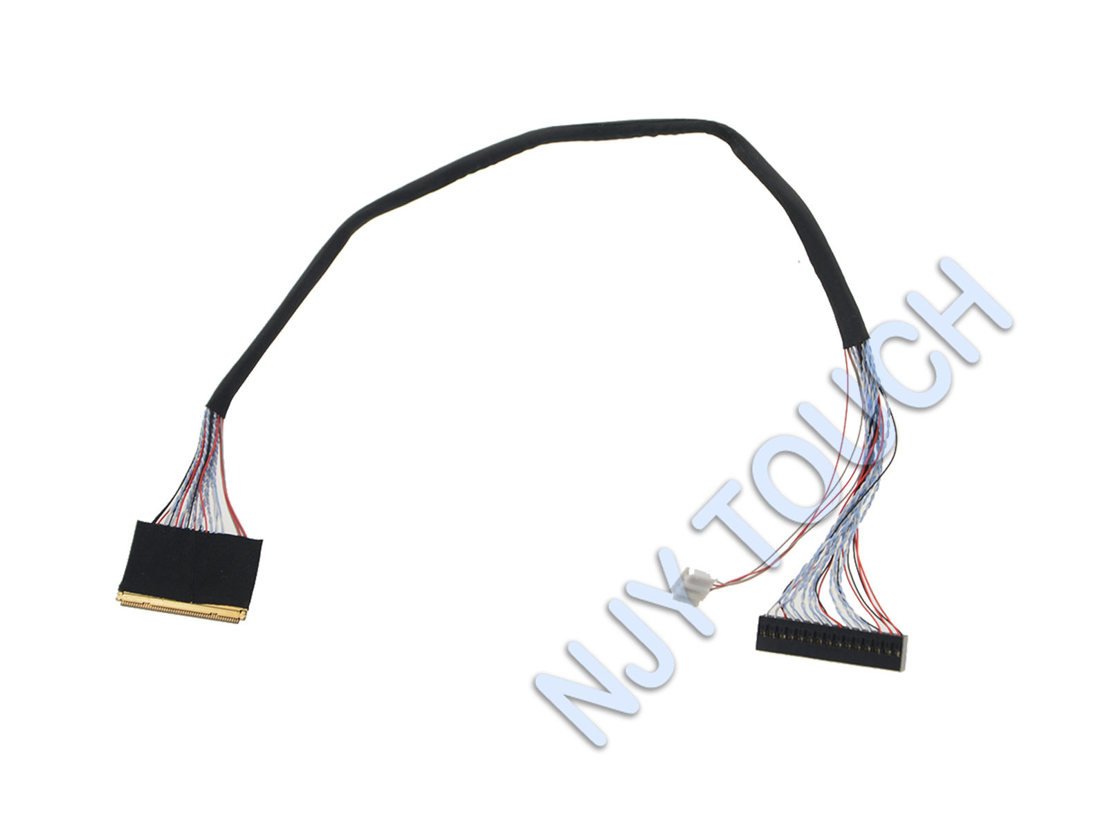 LVDS LED Cable For B101UAN02.1 B101UAN01 50Pin I-PEX 20455- 050E 2ch 8bit