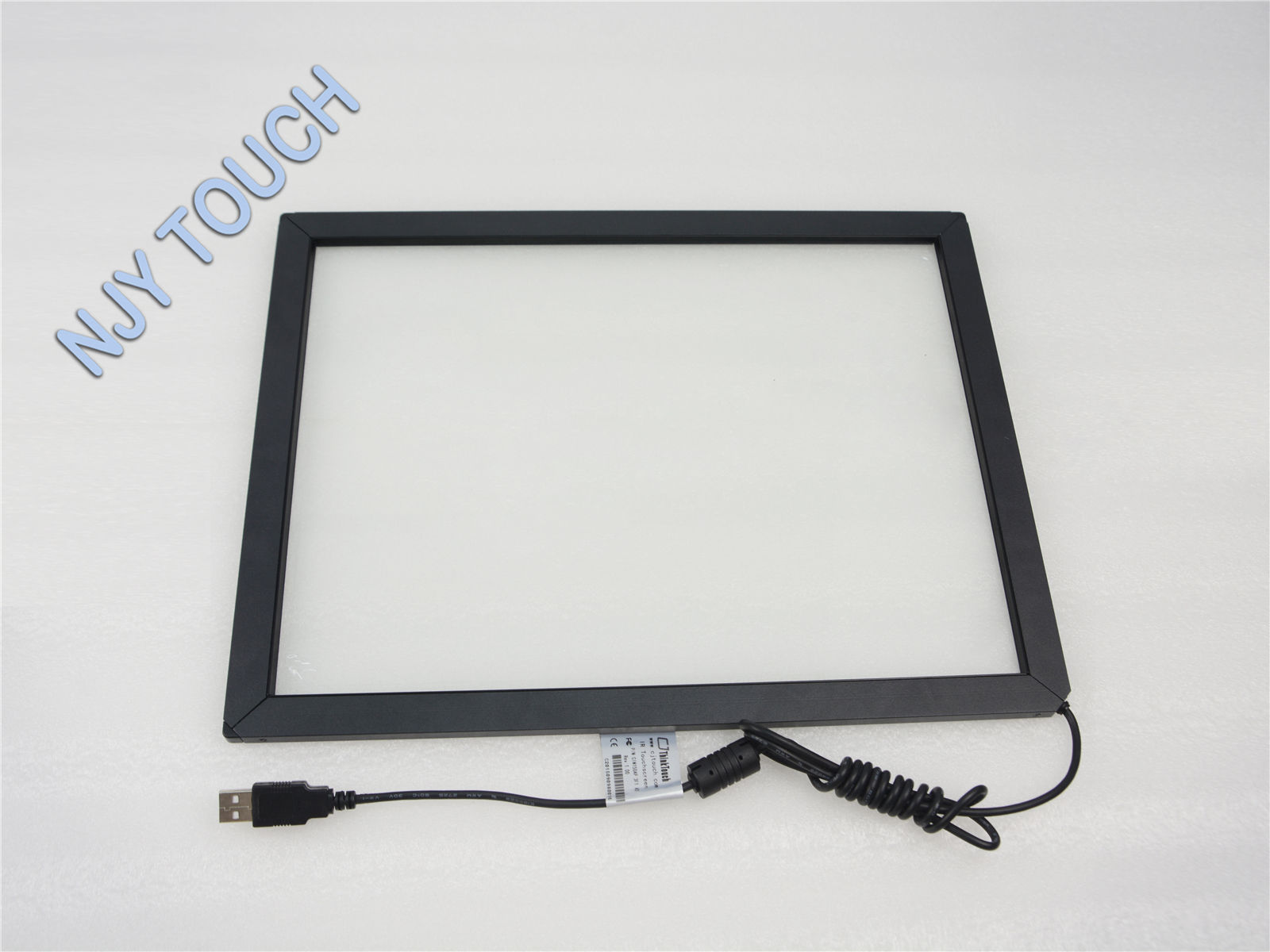 18.5 Inch Infrared Touch Screen Panel Frame USB Win 7 8 Drive Kit 2 point