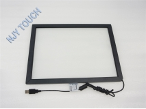 55 Inch Infrared Touch Screen Panel Frame USB Win 7 8 Drive Kit 2 points